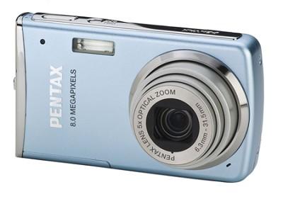 Optio M50 2.5` LCD 8.0 MP, 5x Zoom Digital Camera (Light Blue)
