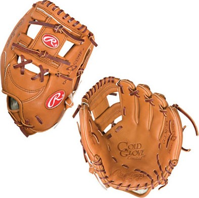 Gold Baseball Glove Limited 11.25 inch Dual Core Infield