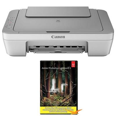 PIXMA MG2420 Inkjet All-In-One Photo Printer (8328B002AA) w/ Photoshop Lightroom