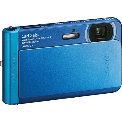DSC-TX30/L Blue 18.2MP Water, Dust, Freeze, and Shockproof Digital Camera