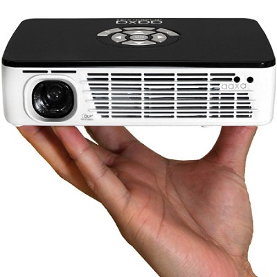 P300 Portable LED Pico Projector, 60+ Minute Battery, 300 Lumen, HDMI