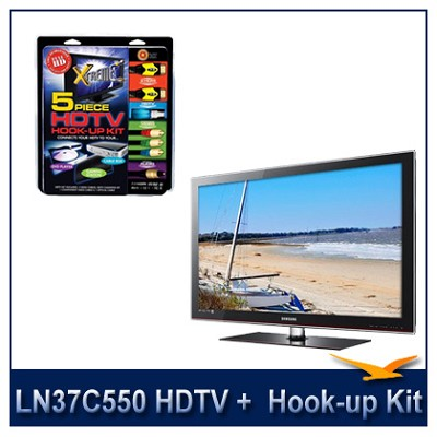 LN37C550 - HDTV + High-performance HDTV Hook-up & Maintenance Kit