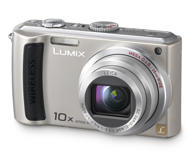 DMC-TZ50S Lumix 9.1 Megapixel Wi-Fi 10x Zoom Digital Camera (Silver) - OPEN BOX