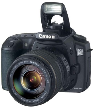 EOS 20D DIGITAL SLR Camera and EF-S 17-85 IS Kit with USA Warranty!