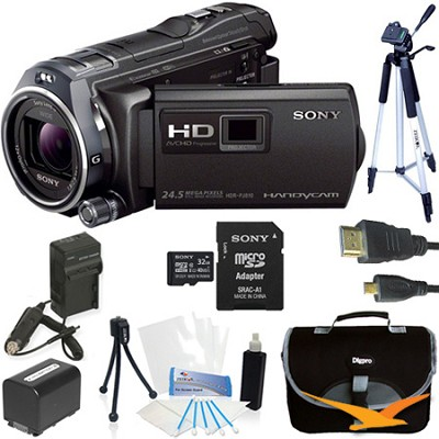 HDR-PJ810/B Full HD 60p/24p Camcorder Kit