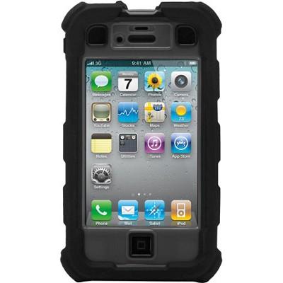 iPhone 4/4S Ballistic Hard Core (HC) Series Case - Black/Gray