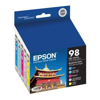 Color Multipack High Capacity Inkjet Cartridge - T098920