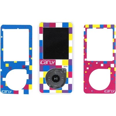 -Carly Digital MP3/MP4 Player with Changing Face Plates - Multicolor