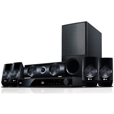 LHB336 - 3D Blu-ray Home Theater System - OPEN BOX