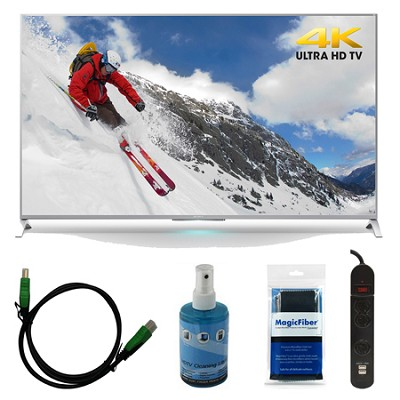 XBR-55X800B - 55-inch 4K Ultra HD Smart LED TV Motionflow XR 240 Bundle