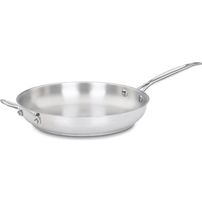 Chef's Classic Stainless 12` Open Skillet