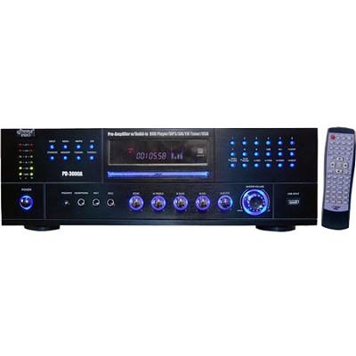Home PD3000A 3000-Watt AM-FM Receiver with Built-In DVD/MP3/USB