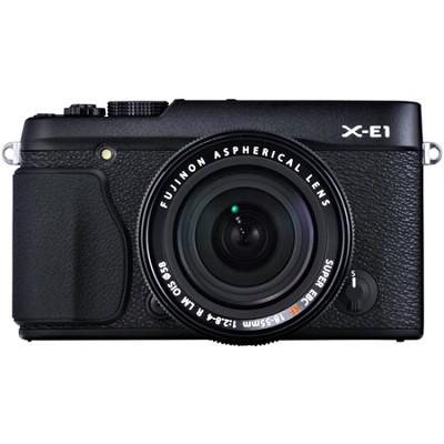 X-E1 16.3MP Digital Camera with 18-55mm Lens - Black