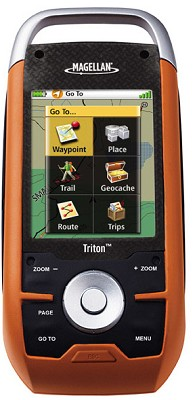 Triton 1500 Handheld GPS w/ 2.7-inch Touchscreen, Voice Recorder & Flashlight