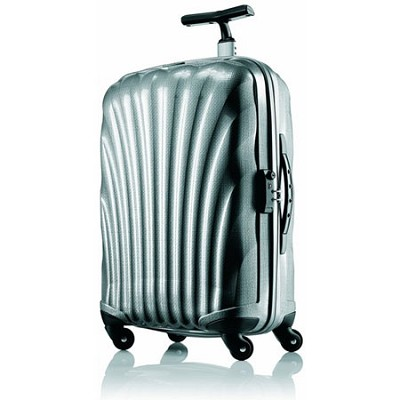 Black Label Cosmolite Hardside 32` Silver Spinner Suitcase