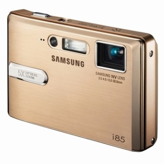 i85 Digital Camera, PMP and MP3 Player (Gold)