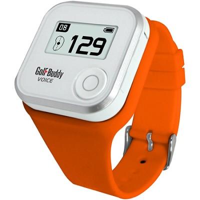 Wristband for GolfBuddy GPS Rangefinder Voice, Small, Orange