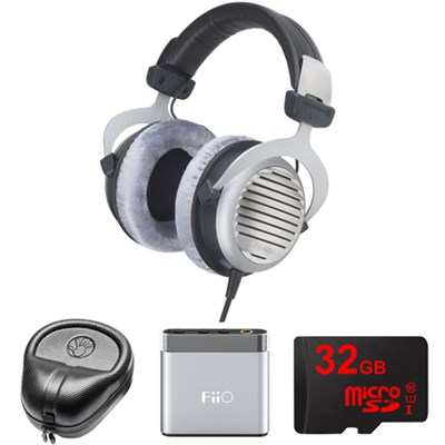 DT 990 Premium Headphones 250 OHM - 483958 w/ FiiO A1 Amp. Bundle