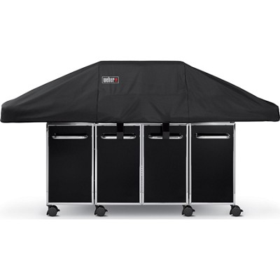 7549 Premium Cover for Genesis Grill with Cabinetry Side Tables