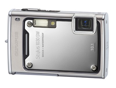 Stylus 1030 SW 10MP Shockproof Waterproof Digital Camera (Silver)
