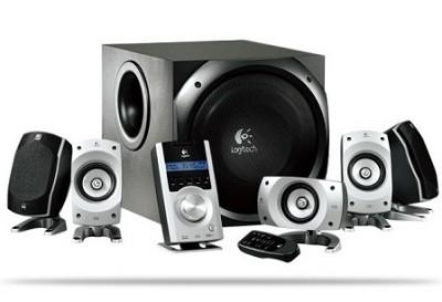 Z5500 Digital Surround Sound Speaker System - 5.1-channel  500W RMS