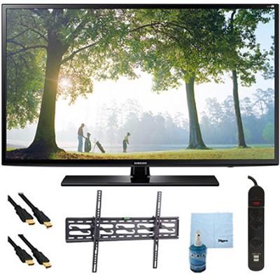 UN46H6203 - 46-Inch 120hz Full HD 1080p Smart TV Tilt Mount & Hook-Up Bundle