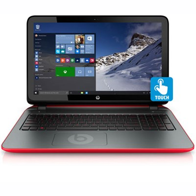 15-p393nr 15.6` Touchscreen Beats Edition AMD Quad-Core A10-7300 Laptop - REFURB