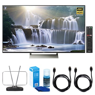 65-inch 4K HDR Ultra HD Smart LED TV (2017 Model) w/ TV Cut the Cord Bundle