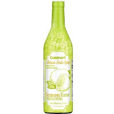 Artisan Soda Syrup, 750ml - Lemon Lime