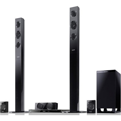 SC-BTT490 Home Theater System w/ Tall Speakers, Built-in WiFi, - OPEN BOX