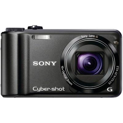 Cyber-shot DSC-H55 14.1 MP Digital Camera (Black) - REFURBISHED