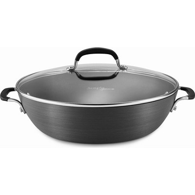Simply Nonstick 12` All Purpose Pan with Cover