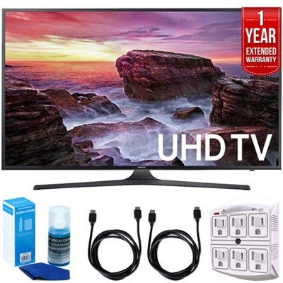 Flat 64.5` LED 4K UHD 6 Series Smart TV (2017) + Cleaning Warranty Pack