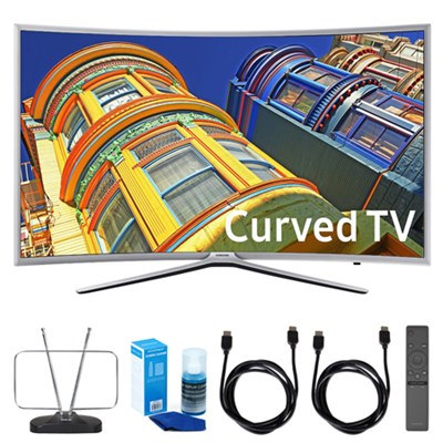 49` 6-Series Curved 1080p Full HD Smart LED TV w/ TV Cut the Cord Bundle