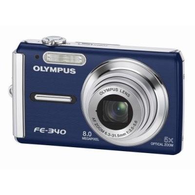 FE-340 8MP Digital Camera (Blue)