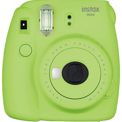 Instax Mini 9 Instant Camera - Lime Green (OPEN BOX)