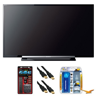 KDL-46R453A 46` R450A Series LED HDTV Surge Protector Bundle