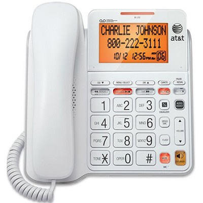 CL4940 1-Handset Landline Telephone with Large Display