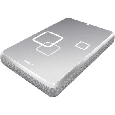 FOR MAC DS TS Radiant Silver 500GB Canvio USB 2.0 Portable HDD - OPEN BOX