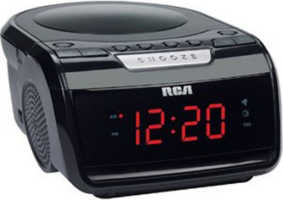 CD Clock Radio with Battery Back-up - RP5605