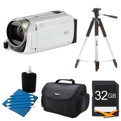 VIXIA HF R500 1080/60p HD Camcorder White Kit