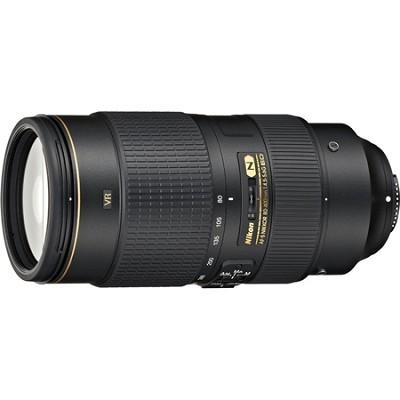 AF-S NIKKOR 80-400mm f.4.5-5.6G ED VR Lens - Factory Refurbished