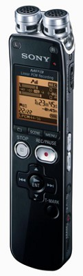 Digital Flash Voice Recorder with Dragon Software