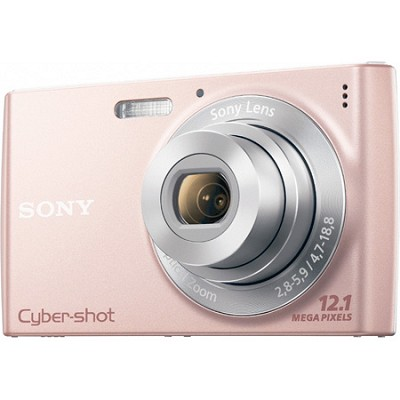 Cyber-shot DSC-W510 Pink Digital Camera