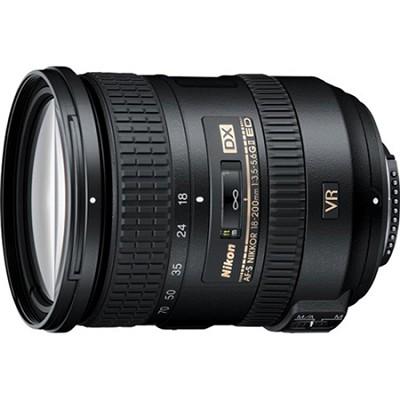 AF-S DX NIKKOR 18-200mm f/3.5-5.6G ED VR II Lens - Factory Refurbished