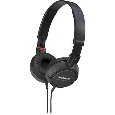 MDR-ZX100 Stereo Headphones (Black)