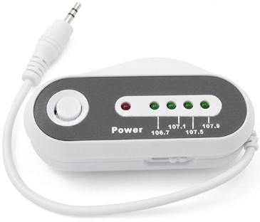 FM-LE01 Wirelessly Transmits your Music to Any Car or Home FM Radio