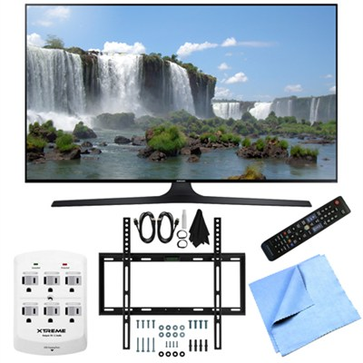 UN32J6300 - Full HD 1080p 120hz Slim Smart LED HDTV Flat Tilt Wall Mount Bundle