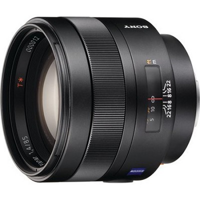 SAL85F14Z - Carl Zeiss Planar T 85mm f1.4 Telephoto Lens