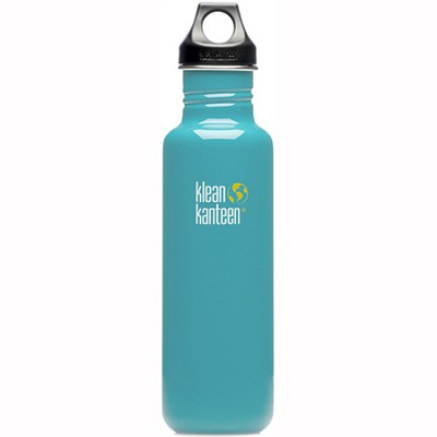 K27PPL-RB - 27oz Kanteen Classic (w/loop cap) - Reef Blue